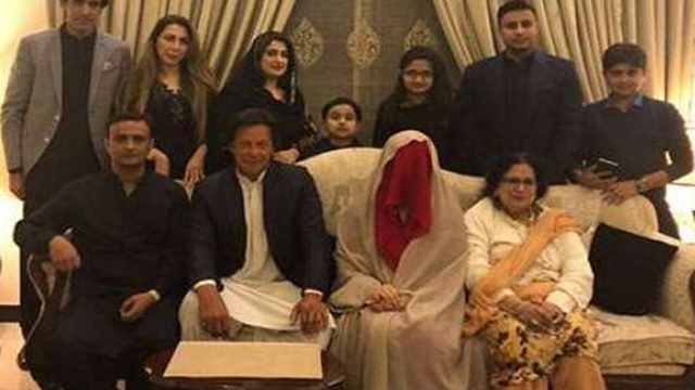 Imran Khan marries for third time
