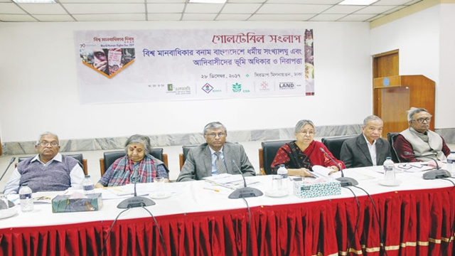 'Religious and ethnic minorities are most persecuted in BD'